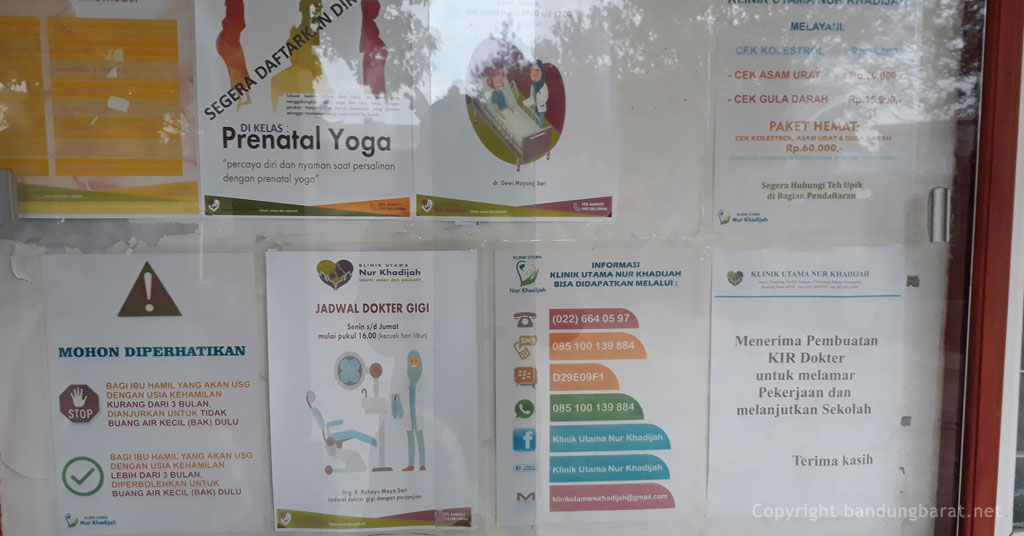 Klinik Utama Nur Khodizah Cihanjuang