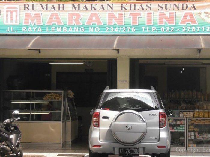Rumah Makan Khas Sunda Marantina