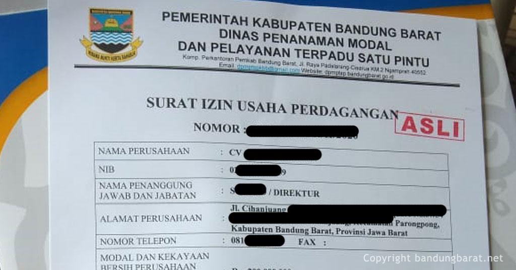 Pengalaman Mengurus Siup Kabupaten Bandung Barat Blog Orang Bandung Barat