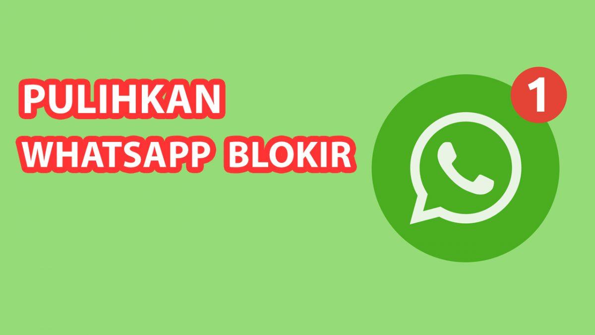 Cara Mengatasi WhatsApp Diblokir